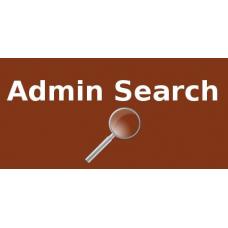 Admin Search
