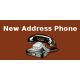 New Address Phone