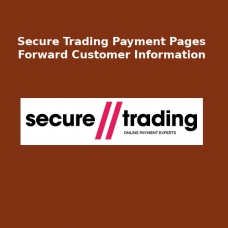 Secure Trading Payment Pages - Forward customer Info